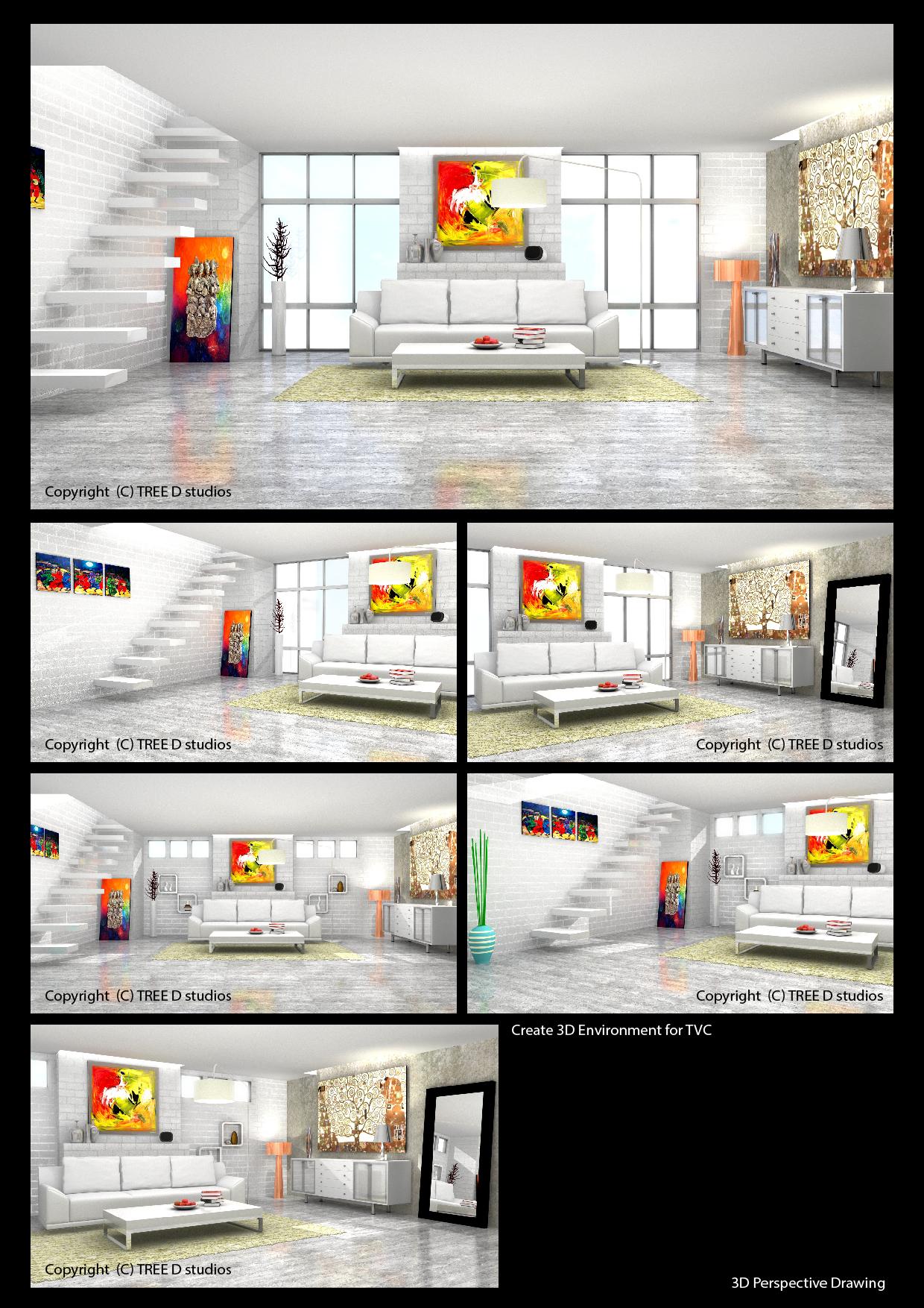 Portfolio 3D Environment For TVC OSIM UDivne